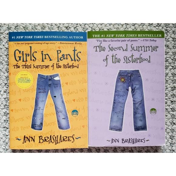 BOOKS--2 Ann Brashares Paperbacks